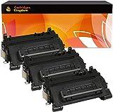 Cartridges Kingdom Pack 3 Compatibles Cartouches de Toner Laser Remplacement pour HP CF281A 81A Laserjet Enterprise M604dn M604n M605dn M605n M605x M606dn M606x MFP M630dn M630f M630h Flow M630z