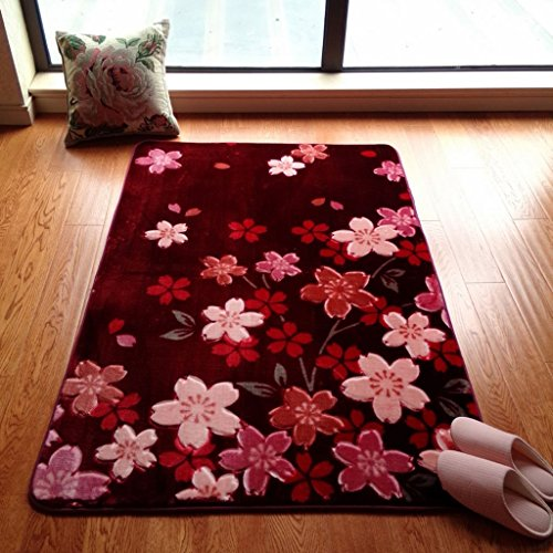 Gcci tappeto da salotto camera da letto rosa scendiletto tappeto tavolino tappeto rosa ciliegia ragazza camera da letto tappeto, aaa