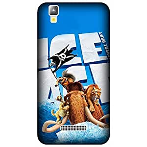 Micromax Yu Yureka 5510 Printed Back Cover By Winchip - Multicolor