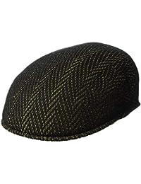 new arrival 4a28a d62ad Kangol Men s Lg Herringbone 504 Flat Ivy Cap Hat