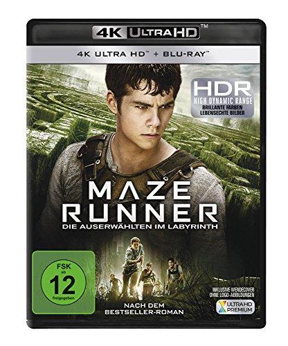 Maze Runner - Die Auserwählten im Labyrinth  (4K Ultra HD) (+ Blu-ray)