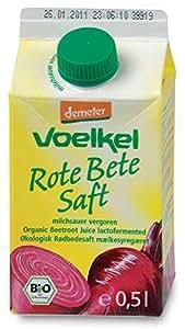 Voelkel Rote-Bete-Saft, milchsauer vergoren (500 ml) - Bio