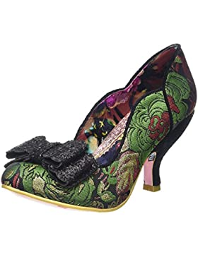 Irregular Choice Ladies First Verde Multi Donne Hi Talons Scarpe