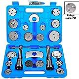 JOMAFA - REPOSICIONADOR DE PISTONES DE FRENOS CON ROSCA 23 PIEZAS (para reposicionar el pistón de freno al cambiar los discos, las zapatas o las pastillas de freno)