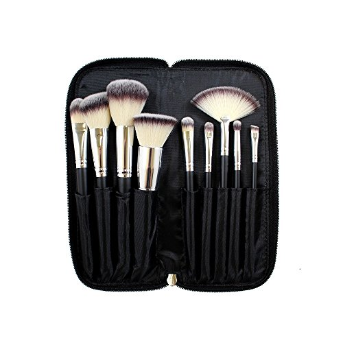 Morphe - SET 502 - 9 PIECE DELUXE VEGAN BRUSH SET by Morphe