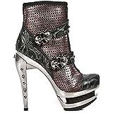 New Rock Women's Rock Leather Boots M.ROCK217-S1