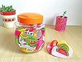 #6: INFInxt Fruit Slice Shaped Sharpner for Kids Birthday Return Gift 60 Pcs.(Pack of 1 Jar)