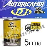 BARDHAL XTR C60 Racing 39.67 SAE 20W-60 Olio Auto x Motori Elevata Potenza 5lt