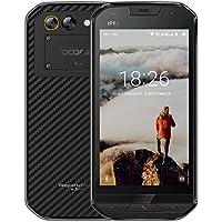 Telephone Portable Debloqué Incassable, DOOGEE S30 Smartphone 4G IP68 Étanche Antichoc, Ecran 5 Pouces - 5580mAh Grand Batterie - 16Go - 2Go de RAM - 5MP + 8MP Caméras - Android 7.0 Double SIM - Noir