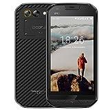 Smartphone ohne Vertrag, DOOGEE S30 Wasserdichte Outdoor Handy, Dual SIM Robustes Smartphones Android 7.0, 4G 5.0 Zoll IPS MTK6737V, 2GB + 16GB, 8.0 MP+3.0MP Dual Kamera + 5.0 MPFront Kamera, 5580mAh