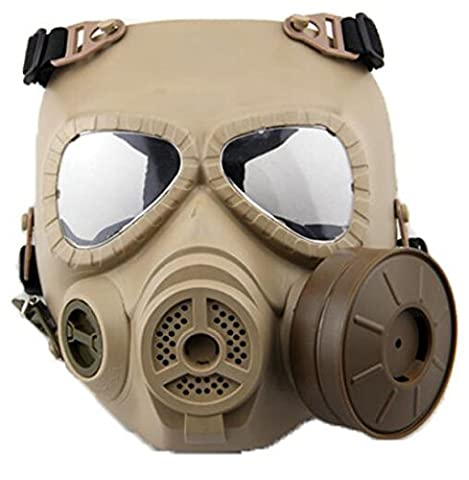 WorldShopping4U Dummy Anti Fog Gas Face Mask M04 w Turbo