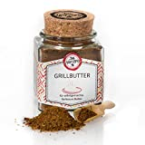 Die Würzerei   Grillbutter inkl. E-Book mit Rezepten - Gewürzzubereitung für selbstgemachte Barbecue Butter, 120g