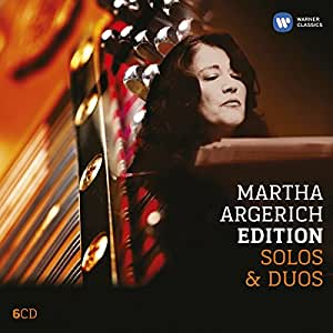 Martha Argerich Edition: Solos & Duos (Coffret 6 CD)