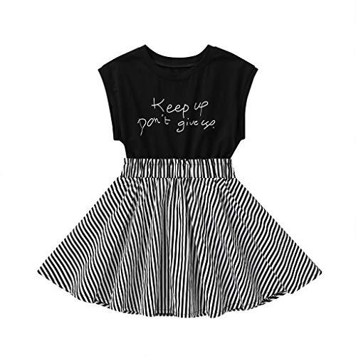 kind Kleinkind Baby Kinder Kurzmode Lässig Gedruckt Dünne Prinzessin Kleid Outfits Kleidung 0-5 Jahre ()