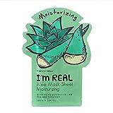 Tonymoly Je suis en Soins de la peau du visage Masque Sheet Package (Aloe–Hydratant 10feuilles) par Tonymoly