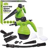 Quest Benross Handheld Steam Cleaner, 0.25 Litre, 1000 W, 3 Bar, Green