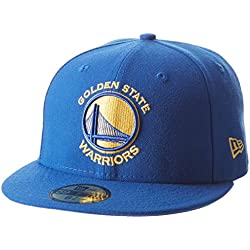 New Era Nba Team Classic Golwar Otc - Gorra Línea Golden State Warriors para Hombre, color azul, talla 7 1/4