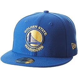 New Era Nba Team Classic Golwar Otc - Gorra Línea Golden State Warriors para Hombre, color azul, talla 7 3/8