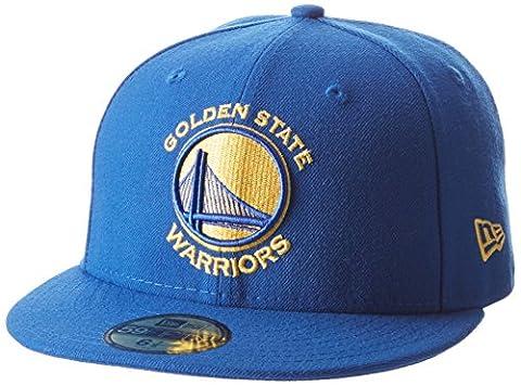 New Era Nba Team Classic Golwar Otc - Casquette ligne Golden State Warriors pour Homme, couleur Bleu, taille 7 1/8