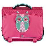 Delsey Scolaire Schoolbag Cartable, 38 cm, Pivoine/Chouette