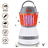 KACOOL Bug Zapper & Camping Lantern 2 In 1 Night LED Repellent Control Waterproof Rechargeable Portable for Indoor & Outdoors Traveling