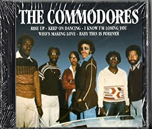 (CD Album THE COMMODORES, 9 Tracks) come by here / rise up