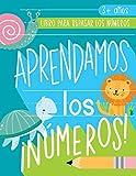 Aprendamos los números: Libro para repasar los números: 3+ años: Cuaderno de actividades para practicar los trazos de los números con temática de ... (de 3 a 5 años, matemáticas y escritura)
