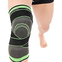 Verstellbare Kniepolster, 3D-Weber-Kniebandage, atmungsaktiv, elastisch, für Schmerzlinderung, Meniskusrisriss... preisvergleich bei billige-tabletten.eu