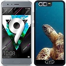 Custodia in silicone per Huawei Honor 9 - Tartaruga Sealife Animale Acqua by WonderfulDreamPicture
