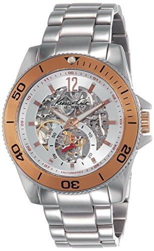 kenneth-cole-new-york-herren-kc9254-modern-core-triple-silver-automatic-bracelet-armbanduhr
