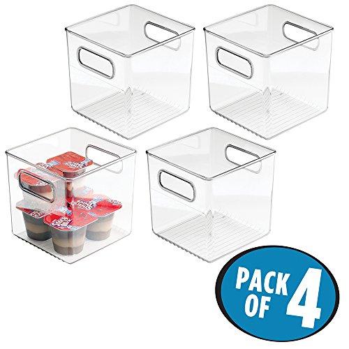 Klemm Kühlschrank 3er-Set transparent Schublade Aufbewahrungsbox Hygiene Fach