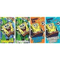 Spugna testa Sponge Bob set di 4asciugamano