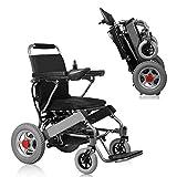 Szeao Ultraleichter Faltbarer Elektrischer Rollstuhl, Intelligente Automatische, Frei-Reiten, Elektro-Rollstuhl