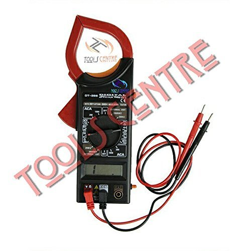 TOOLS CENTRE DIGITAL CLAMP Meter with LCD Display AC/DC Voltage Electricity Ampere Measuring Instrument. Digital Meter, Dc Ampere