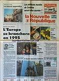 Telecharger Livres NOUVELLE REPUBLIQUE LA No 14349 du 20 12 1991 LES PEINTURES MURALES DE COUDDES SERONT ELLES SAUVEES TELE HAUTE DEFINITION L EUROPE SE BRANCHERA EN 95 FOIES GRAS HUITRES ET CAVIARS LES MAUVAISES FARCES DE REVEILLONS CASSER LE MYTHE PARISIEN PAR GERBAUD UNICEF 10 PRIORITES POUR LES ENFANTS STAGE COMMANDO LES EOR DE SAUMUR ASSURENT A QUIBERON UN DECRET DE ELTSINE A SUPPRIME LE MINISTERE SOVIETIQUE DES RELATIONS EXTERIEURES ET ANNEXES SES LOCAUX AINSI QUE LE KREMLIN ET S (PDF,EPUB,MOBI) gratuits en Francaise