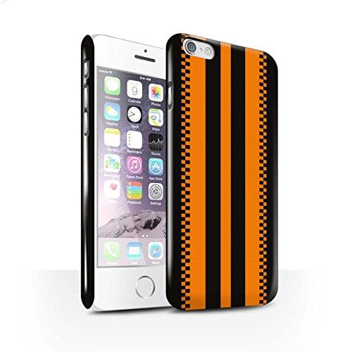 STUFF4 Glanz Snap-On Hülle / Case für Apple iPhone 7 Plus / Jaguar/Grün Muster / Rennwagen Streifen Kollektion Japanisch
