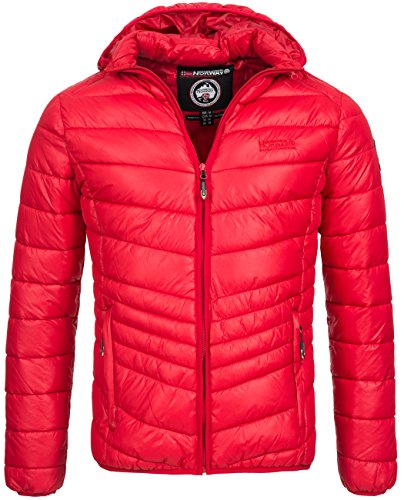 Geographical Norway - Blouson - Homme Rouge - Rouge