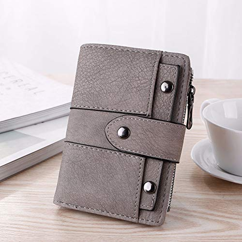 Vintage Matte Wallet Ladies Soft Pickup Bag, Ladies Student Small Wallet,Wallet Credit Card Slot