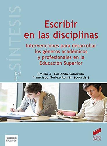 Escribir en las disciplinas (Libros de Síntesis)