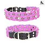 Paracord Halsband, Paracordhalsband, Hundehalsband, Halsband Paracord,geflochtenes Hundehalsband, Big Wave
