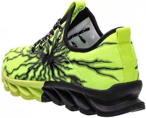 BLOOMNEXT Mode Gymschuhe für Männer 3 Farben 38-44 Grün