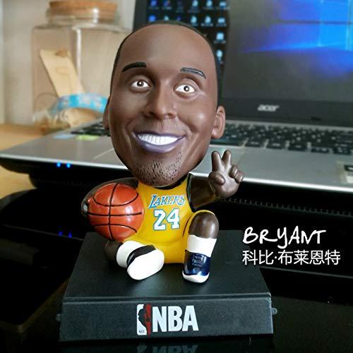 UDstrap Schüttelköpfen Basketball-Star Jordan Harden James Kobe Bryant Action Figure Modell Car Dekoration Telefonhalter Spielzeug 12cm Ich (Deadpool Lego Spielzeug Marvels)