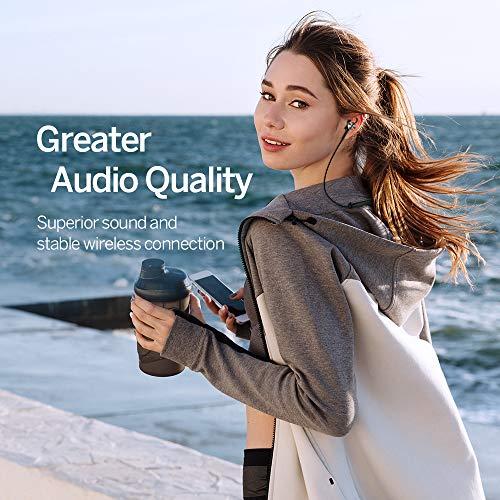 Noise Cancelling Kopfhörer TaoTronics Bluetooth 4.2 ANC In Ear Kopfhörer mit Nackenbügel und integrierten Magneten, IPX5, CVC 6.0 geräuschunterdrückendem Mems Mikrofon - 3