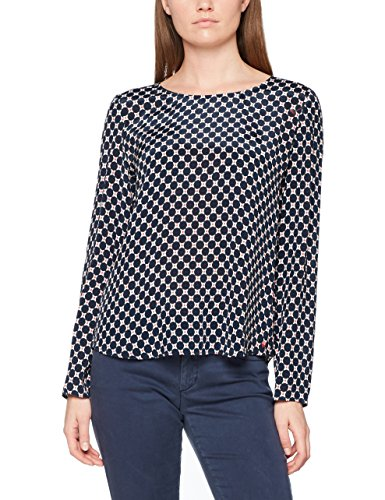 Marc O'Polo Damen Bluse 801082742305, Mehrfarbig (Combo Z03), 42 (Grafik-t-shirt Tunika)