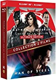 Collection 2 films : Batman v Superman : L'aube de la justice + Man of Steel [Combo Blu-ray 3D + Blu-ray 2D]