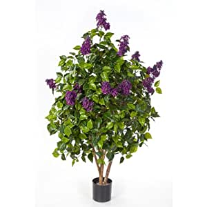 lilas artificiel 1090 feuilles violet 150 cm arbuste artificiel plante synth tique. Black Bedroom Furniture Sets. Home Design Ideas