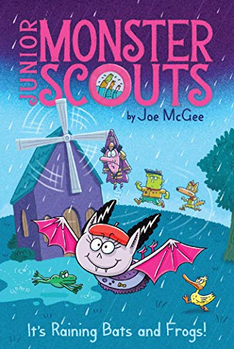 It's Raining Bats and Frogs! (Junior Monster Scouts Book 3) (English Edition) (Girl Transylvania Hotel)