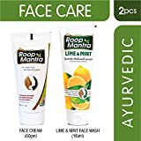 Roop Mantra Face Cream 60gm + Lime & Mint Face Wash 115ml