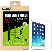 Cyxus filtro de luz azul pantalla bloqueo uv [mejor sueño] ultra HD 9H protector de pantalla de vidrio temperado para Apple iPad mini 1st/2nd/3rd generación (7,9 pulgada)