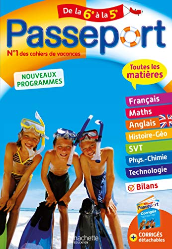 Passeport Toutes les matières - De la 6e à la 5e